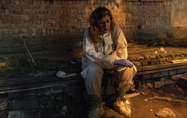 Журналисты США показали работу украинских медиков
