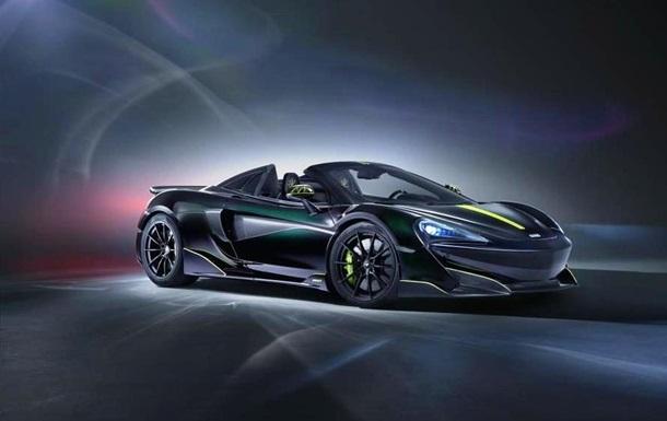 McLaren представил посвященный ядовитому пауку суперкар: фото