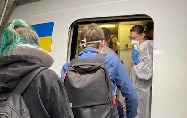 Из США спецрейсом эвакуировали 266 украинцев