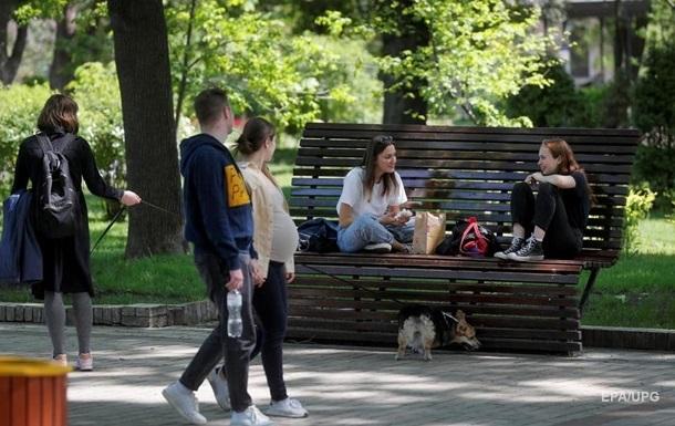 Дан прогноз окончания первой волны COVID в Украине