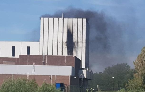 Закрытая АЭС загорелась в Нидерландах