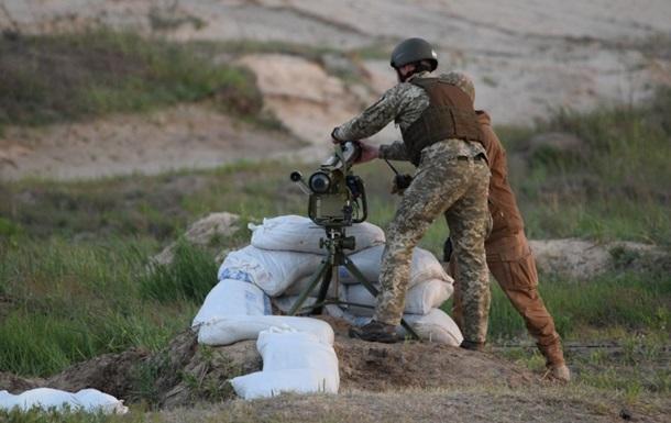 ВСУ испытали ракетный бронебойный комплекс Корсар