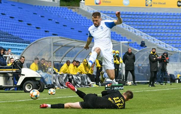 Динамо не сумело обыграть Рух в первом матче после карантина