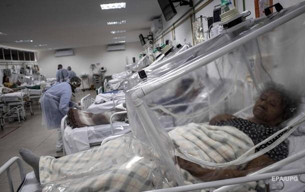 Бразилія стала другою у світі із зараження COVID-19