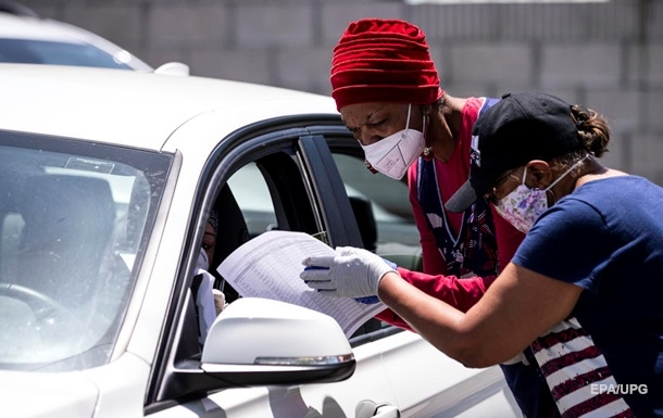 Коронавірус у США: понад 1,6 мільйона заражених