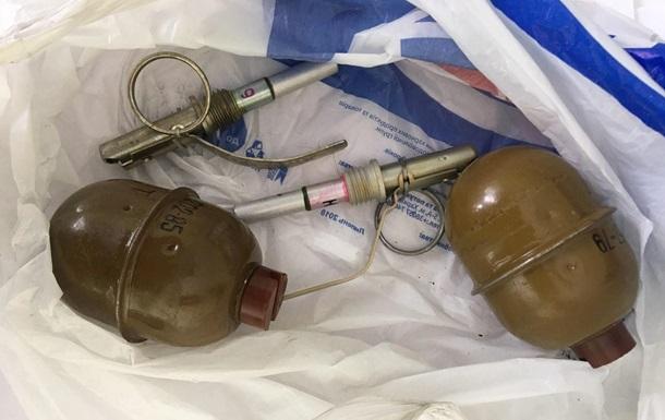 На Харківщині затримали продавця гранат