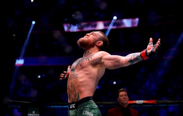 Макгрегор назвал себя вторым лучшим бойцом в истории ММА