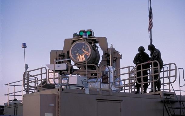 США вперше випробували лазер проти дрона на морі