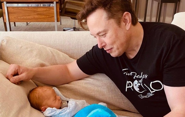 Ілон Маск змінив ім я своєї дитини