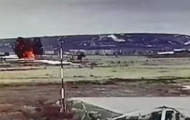Падіння вертольота Мі-8 на Чукотці потрапило на відео