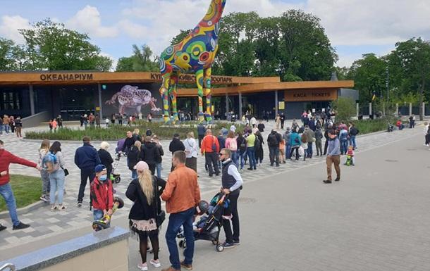 Кличко пояснив величезні черги у київський зоопарк