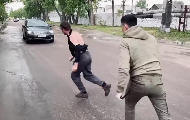 Ветеран АТО без ноги побив водія маршрутки