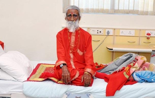 Умер не евший и не пивший 80 лет индийский йог