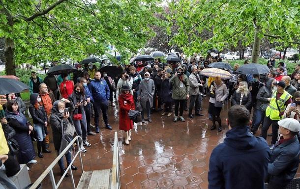 Пожар в колледже Одессы: под судом акция протеста