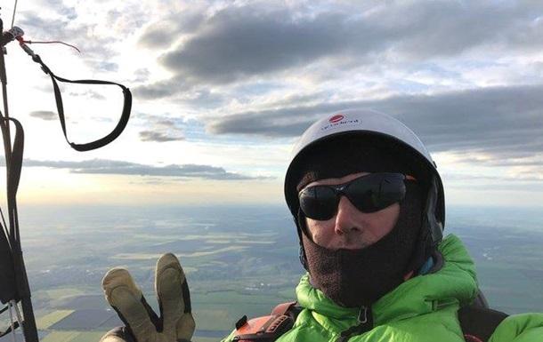 Український парапланерист пролетів рекордні 350 км