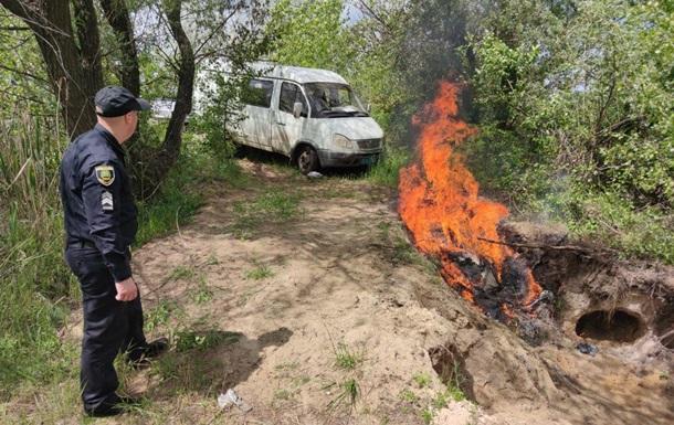 У Слов янську правоохоронці утилізували 30 кг наркотиків