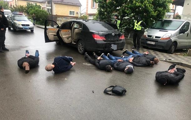 В броварской перестрелке ранены три человека