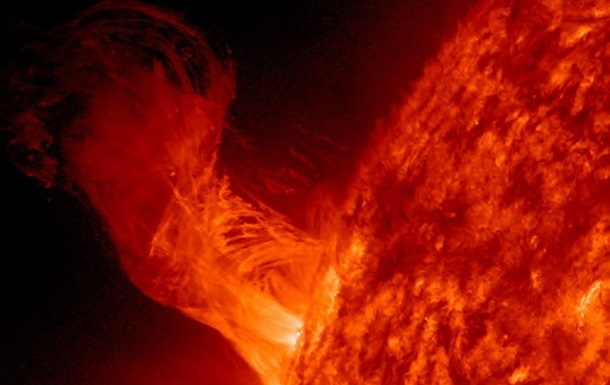 Зафиксирована мощнейшая за три года вспышка на Солнце