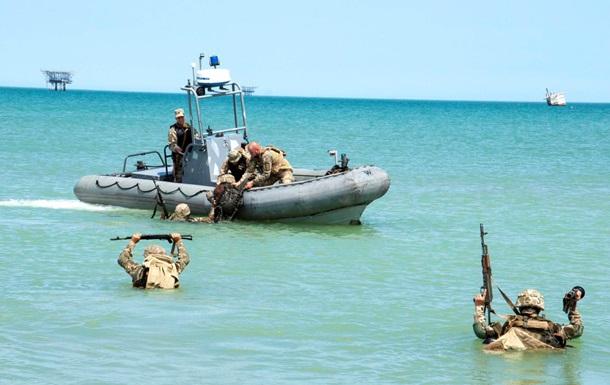На Азові пройшли навчання морської піхоти