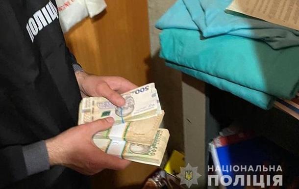 Во Львове у врача в кабинете нашли 200 тысяч