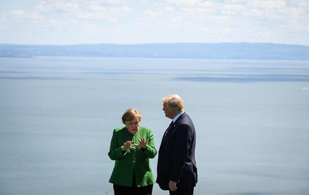 Трамп и Меркель поспорили из-за Севпотока-2 - СМИ