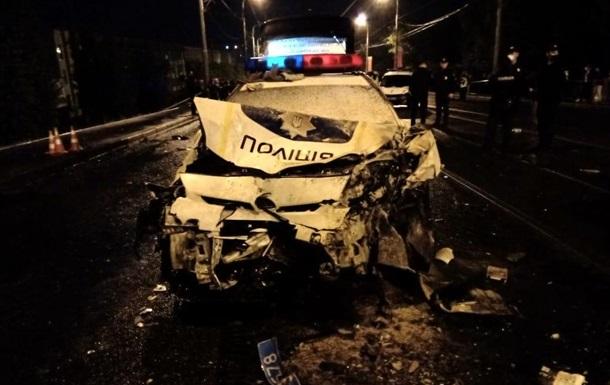У ДТП з патрульними Харкова загинули двоє людей