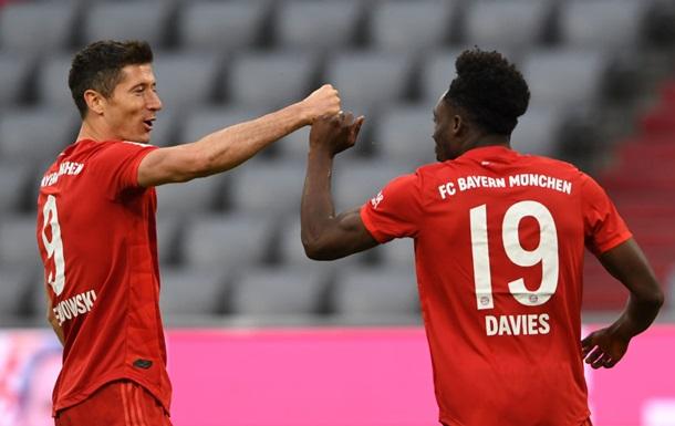 Бавария отправила пять мячей в ворота Фортуны