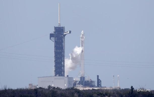 Корабель Crew Dragon стартував до МКС