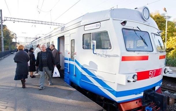 В Киеве запуск городской электрички отложили