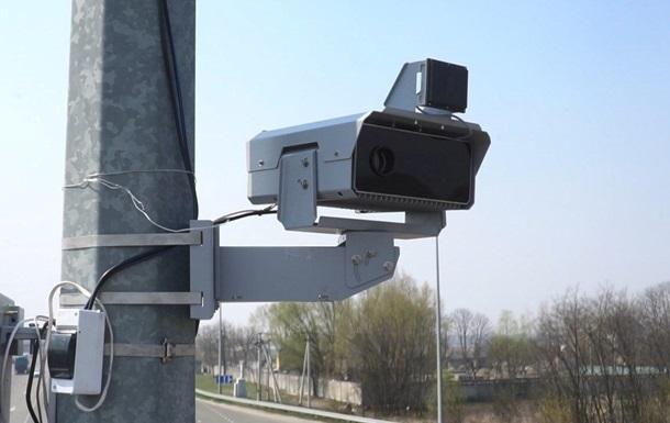 Поліція розкрила місця встановлення камер автофіксації