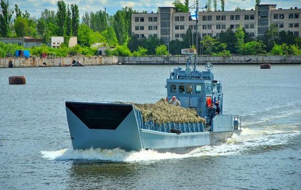 В Николаеве отремонтировали единственный десантный катер ВМС