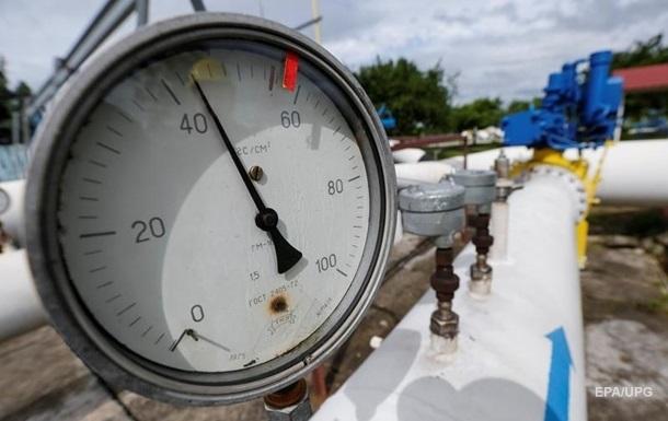 Украина увеличила запасы газа до 18 млрд кубов