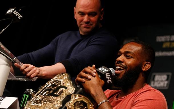 Уайт: Джонс на своих боях заработал столько, что может уйти и никогда не работать