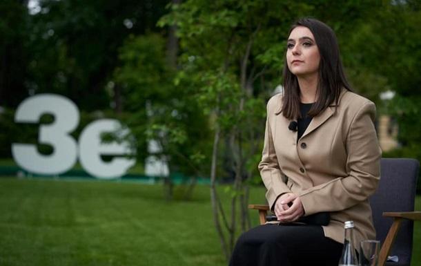 Пресс-секретарь Зеленского заработала почти миллион за год