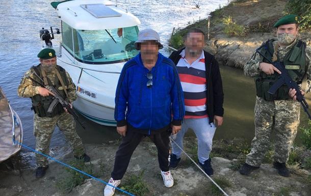 Пограничники оштрафовали румынских рыбаков на Дунае