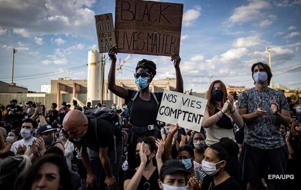 Американские протесты перекинулись во Францию