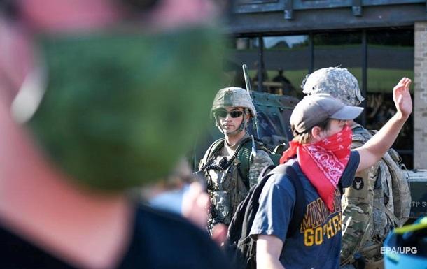 В Вашингтон отправили более полутора тысяч военных из-за протестов