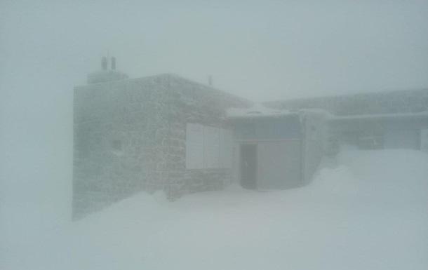 В Карпаты с началом лета пришли морозы