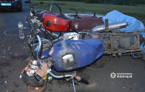 На Волині зіткнулися два мотоцикли, один чоловік помер