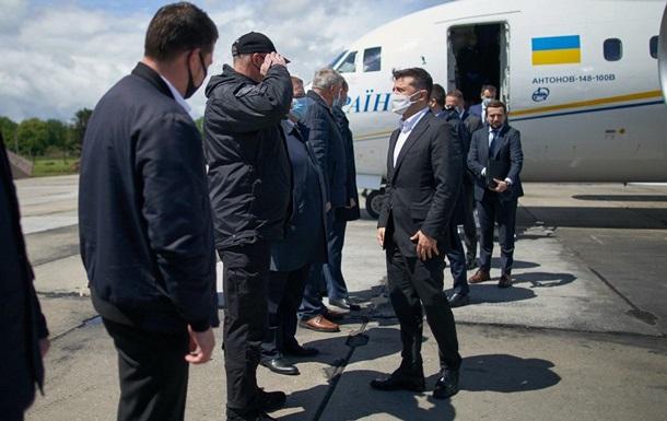 Зеленский приехал в Хмельницкую область решать вопросы туризма