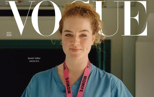 Журнал Vogue вышел с простыми рабочими на обложке: фото, видео