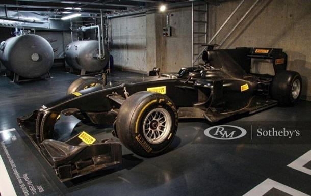 Последний болид Toyota из Формулы-1 продадут на аукционе: фото