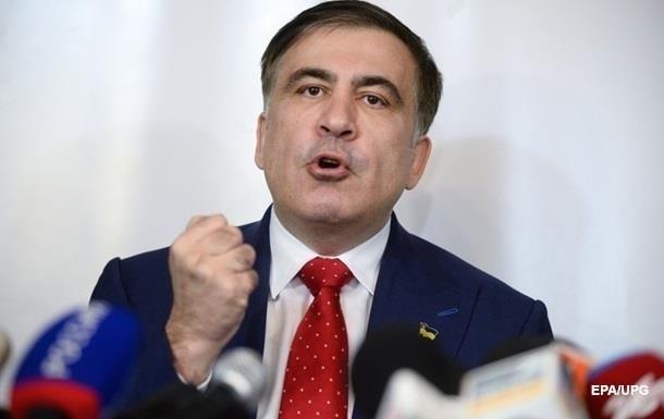К чертовой матери: Саакашвили возмутился вопросом бизнесмена