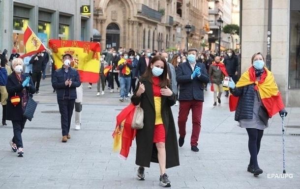 В Испании летальность от коронавируса за неделю оказалась вдвое больше