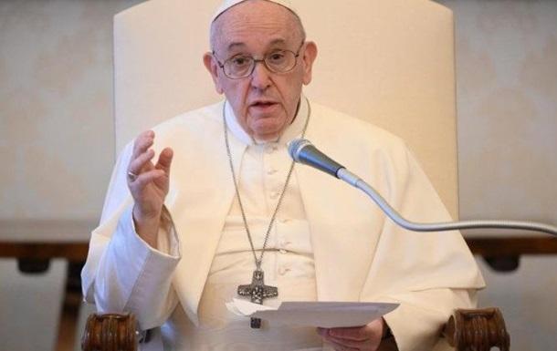 Папа Римский призвал американцев к прекращению насилия