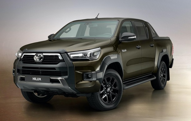 Представлен обновленный Toyota Hilux