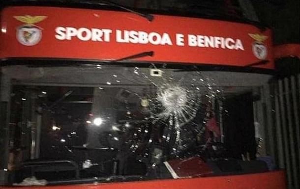 Фанати закидали камінням клубний автобус Бенфіки, є постраждалі