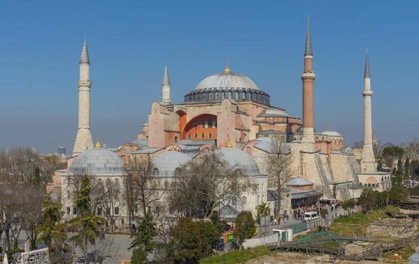 Ердоган планує переобладнати собор Святої Софії в мечеть