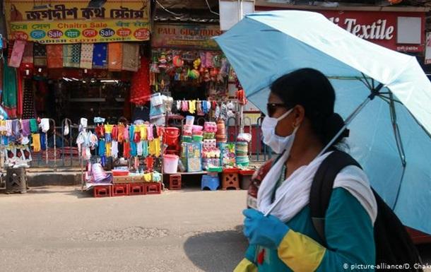В Індії за день до послаблення карантину рекордна кількість випадків COVID