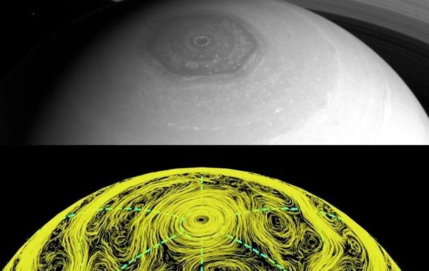 Таємниця загадкового шестикутника на Сатурні розгадана - вчені